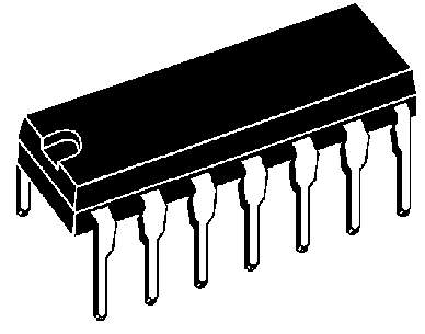 Circuits integr s logiques portes inverseurs texas for Porte logique pdf