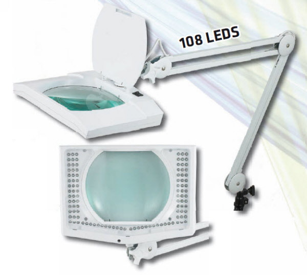 Inspection Agrandissement Controle Lampe Loupe Lampe Loupe A Led